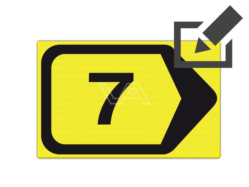 Omleidingsbord WIU T201r-7