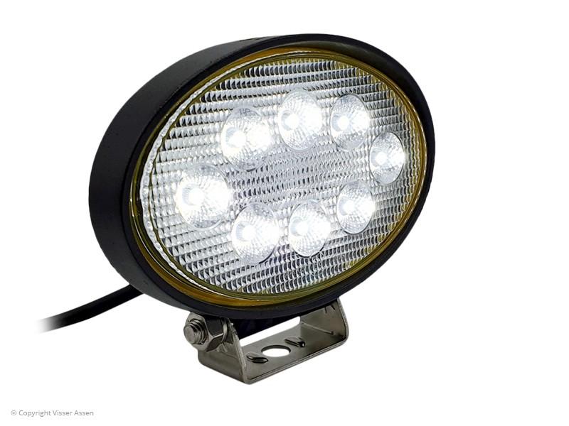 LED-werklamp Ollson ovaal 24 Watt
