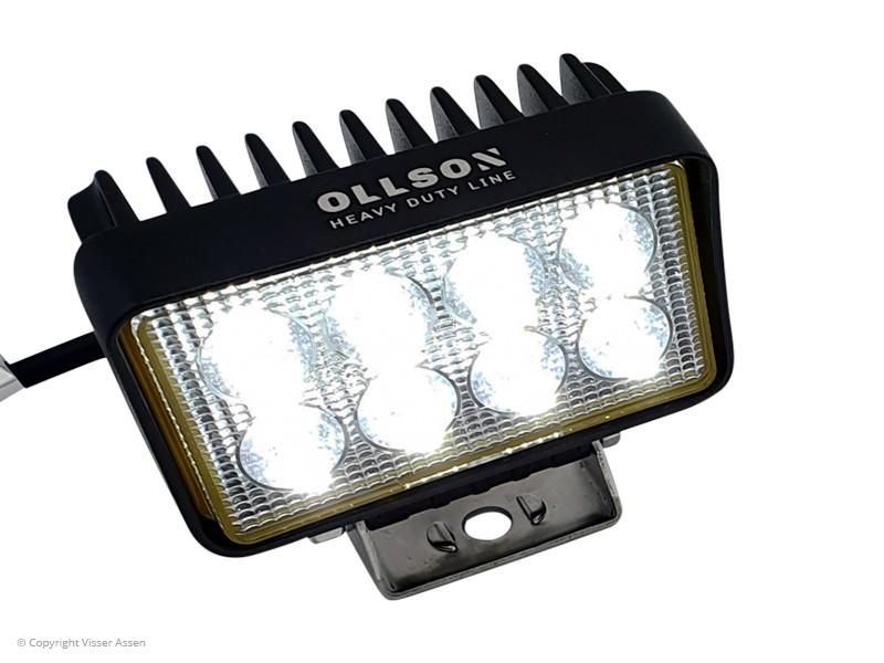LED-werklamp Ollson rechthoek 24 Watt
