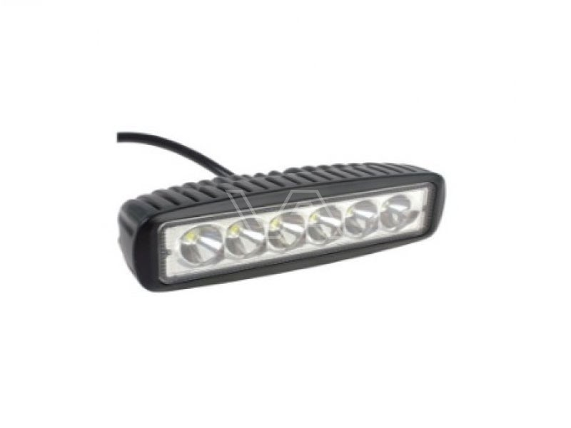 LED-werklamp langwerpig 6 x 3 watt