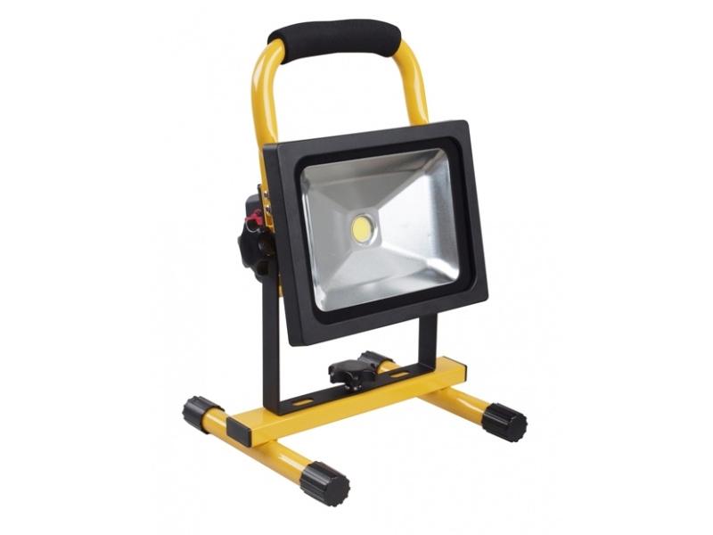 Zeer LED-bouwlamp 20 Watt op accu klasse 3 | Bouwplaats-Inrichting.nl LR52