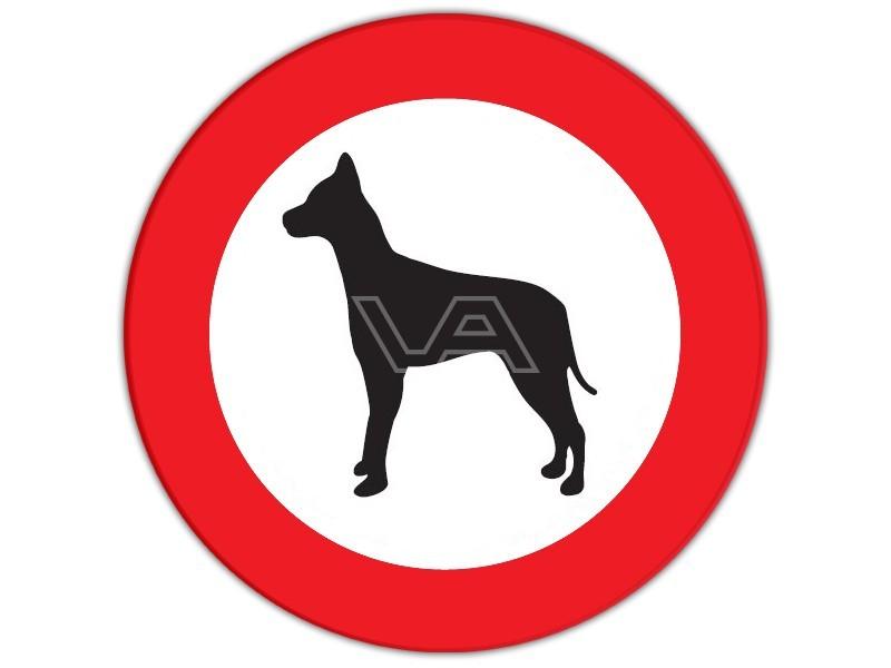 Afbeeldingsresultaat voor verkeersbord hond